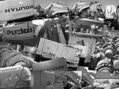 شراء بوكلينات تشليح  والمحروقه من الشركات والمؤسسات والافراد  للمفاهمه 0556692604