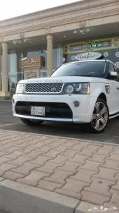 rang rover -سبورت - 2011- ابيض