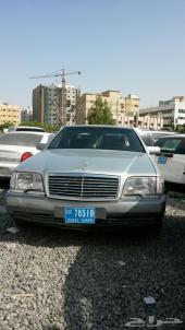 للبيع مرسيدس شبح 500 SEL لارج 1992 وارد الجابان اماراتي