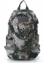 شنطة . حقيبة ظهر للمغامرين بلون جيشي. تمويه رقمي - متعددة الاستخدام