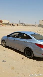 سيارة اكسنت 2011 الشكل الجديد للبيع لا اني مسافر الثلاثاء مستعجل