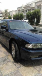 BMW728 نظافه نادره و لوحه مميزه بالصور
