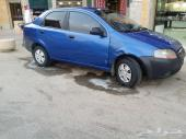 للبيع سيارة افيو شفرولية مديل 2006 نظيفة