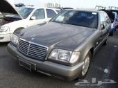 MERCEDES SE 300 1992 GRAY
