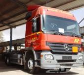 شاحنة (مسقس) 6X2 مرسيدس 2544 ميجا 2005 منافيخ - المنطقة الحرة الأردن