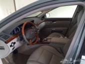 للبيع سيارة مرسيدس S500 موديل 2011 لها شهر من وصولها السعودية وماشية 159 ألف كم