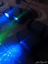 اجهزة ليزر مناسبات وحفلات
