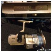 للبيع سنارة صيد d.a.m مع مكينة بانكس st7000 كورية