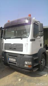 شاحنة مان 2007  (الراس مع قلاب 24)  للبيع