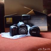 كاميرا نيكون D3100 جديده ضمان الوكيل  عرض مغررري