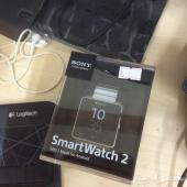 ساعه سوني smart watch2 جديده لم تستخدم الا خمسه ايام