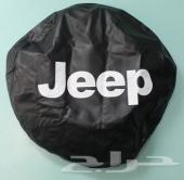 غطاء الاسبير الخلفي ( جلد ) Jeep