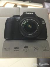 كاميرا كانون Eos 1100d جديدة بكرتونها