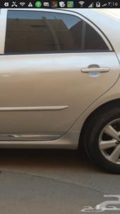 باب وغطاء الشنطه  لكورولا من 2008 الى 2010 لون فضي