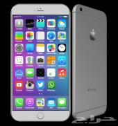 ايفون 6 فضي 16 جيجا - iphone6 16 GB