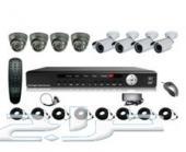 تركيب كاميرات المراقبه بأقل الاسعار مع امكانيه الربط بالانترنت والمشاهده من جميع انحاء العالم من خلا