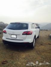 جيب مازدا CX 9 فل كامل ابيض 2013