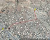 فرصة من المالك مباشرة ارضين على شارعين متظاهرين مساحتها 1344م  بالكدرة ( الدرب ) مخطط قلب الوطن