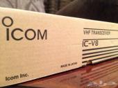 للبيع جهاز كنود ( ايكوم ) يدوي جديد مع كامل اغراضة