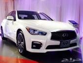 للبيع أنفينتي Q50s الجديدة 2014 وارد سعودي الغسان
