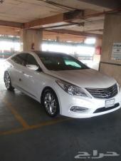 سيارة هونداي ازيرا اللون ابيض 2013 فل كامل
