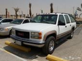للبيع جي أم سي سوبربان 1996 دبل سعودي نظيف