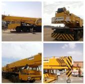 معدات ثقيله للبيع - كرين 50 طن - قلاب سكس - بوم ترك