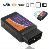 جهاز فحص السيارات OBD2 واي فاي Wifi للآيفون والآيباد والآيبود مع امكانية الشحن لجميع المدن