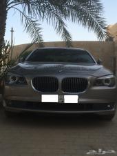 للبيع أو البدل BMW موديل 2011 الفئة السابعه 730 مواصفات 740