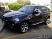 بي ام دبليو BMW X5 2009  نظيف جدا اسود متلك 4.8