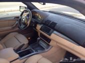 سيارة BMX5 موديل 2005 ممشى قليل ونظافة تامة