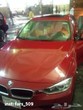 BMW  لوون احمر  2012 للبيع
