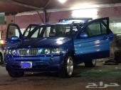 BMW البيع عاجل بي ام دبليو x5  رياضي اعلى مواصفات 2003