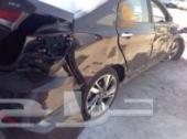 سيارة النترا 2014 مصدومة للبيع
