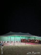 مخيم للايجار الموقع الثمامه  قسمين