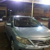 للبع سيارة كورولا موديل 2011