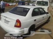 للبيع سياره هيونداى اكسبت موديل 2004 ماشى 180 الف بحالة جيدة على الفحص