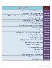 جميع دورات  المحاسبة والمالية  الجديدة  ( أكثر من 50 دورة محاسبية ومالية  )2014-2015