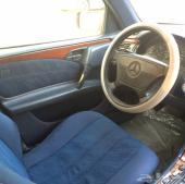 مرسيدس موديل 1997 ام عيون E200  4 سلندر