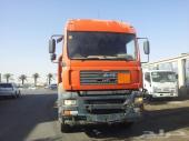 ونش بلك اطلس 6على شاحنة مان 2004