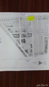 فرصه اربع اراضي متصله على شارعين بمخطط الكدره بالدرب