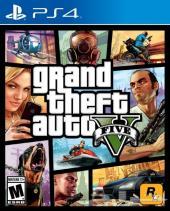 للبيع لعبة قراند 5 Grand Theft Auto v كمية محدودة ps4
