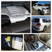 الخيار الكامل 2013 لكزس LX 570 SUV التلقائي بالكامل مع 8 أسطوانات المحرك عدد الكيلومترات قليلة.