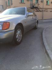 MERCEDES S 600 1995 SILVER