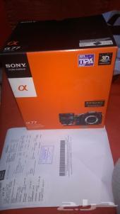 كاميرا سوني احترافية جديدة لم تستخدم SONY ALPHA SLT-A77