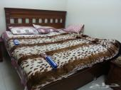 فرصة كبيرة غرفة نوم خشب طبيعي للبيع