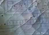 للبيع ارض بصك شرعي واجهتين موقعها طيب مخطط 3
