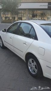 سوناتا لون أبيض لؤلؤي موديل 2008 للبيع