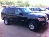 سيارة فورد اكسبلورر سوداء 2008 بحالة جيدة للبيع  218000 كم