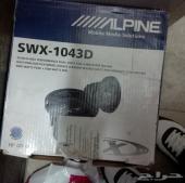 سابوفر للبيع Alpine Type InchX Inch 10 Inch Swx-1043d Dual Voice Coil 4 Ohm 3 000 Watt Car Subwoofer